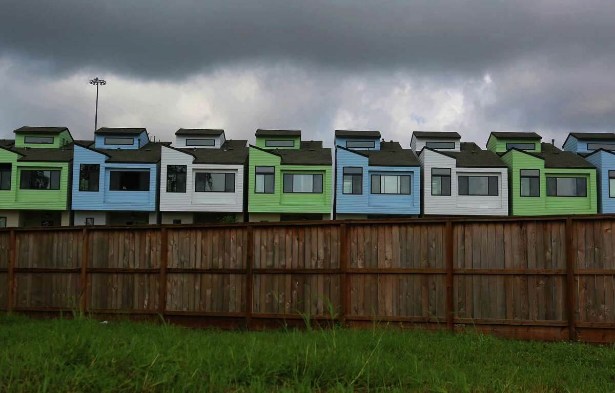 New development pushes east from Midtown into the Third Ward in Houston. ( Mark Mulligan / Houston Chronicle )