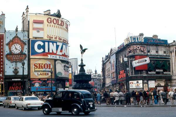 "Piccadilly Circus, London, U.K. In the 1980s, Piccadilly Circus underwent significant renovations. The road junction, which connects four major thoroughfares, has become more pedestrianized, making it easier for tourists to explore the area and get the perfect picture. Additionally, the billboards, which were at one point scattered all around the square, are now relegated to a single building, often called ""Monico"" after Cafe Monico which used to be inside. This slideshow was first published on theStacker.com"