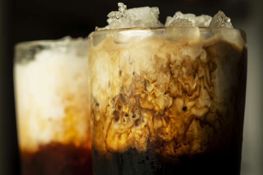 Cold brew, at right, yum. Photo: JOHN KARSTEN MORAN/NYT