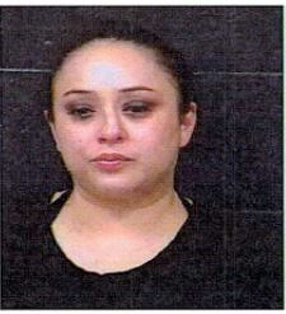 Claudia E Leal was charged with driving while intoxicated with a child under 15 years of age.