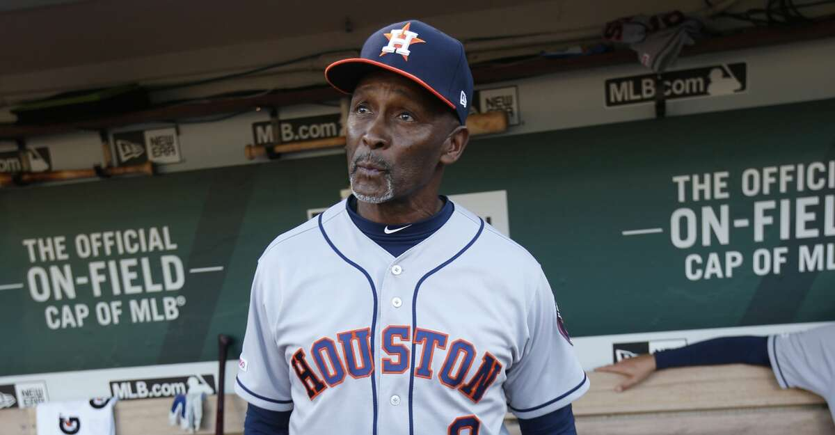Gary Pettis was not with the Astros during the 2020 playoffs while he was undergoing cancer treatments.