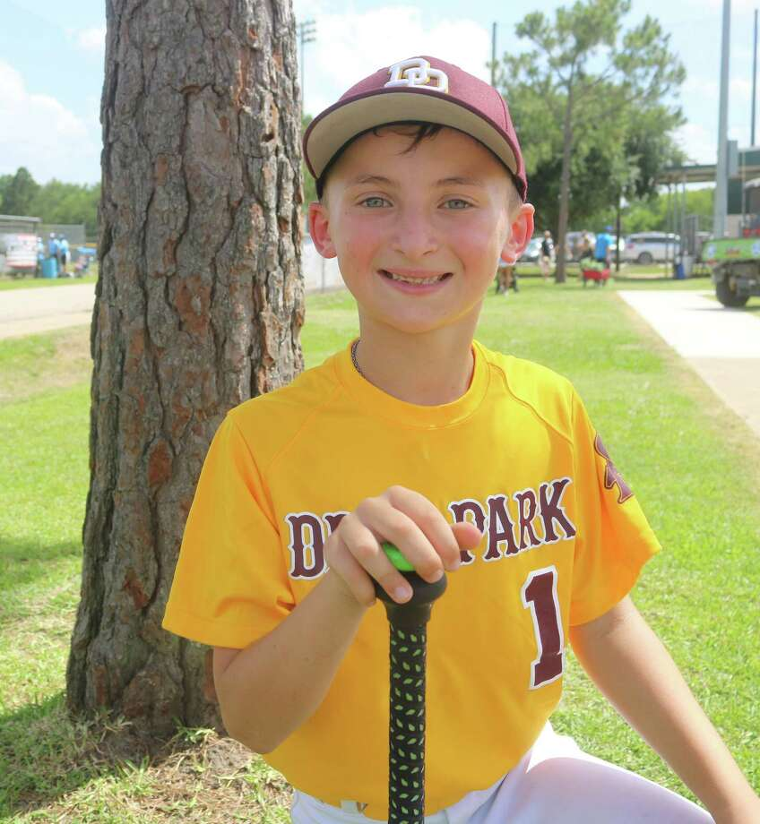 Corbin Bryant, infielder for the Deer Park 8U Pinto All-Stars Photo: Robert Avery