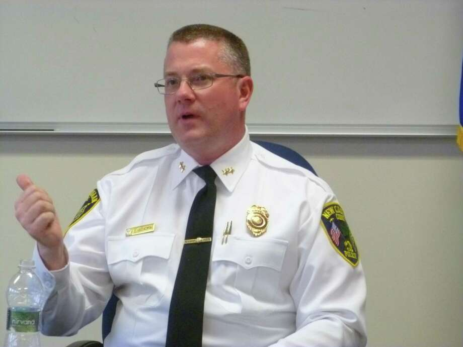 New Canaan Police Chief Leon Krolikowski Photo: Martin Cassidy / Hearst Connecticut Media