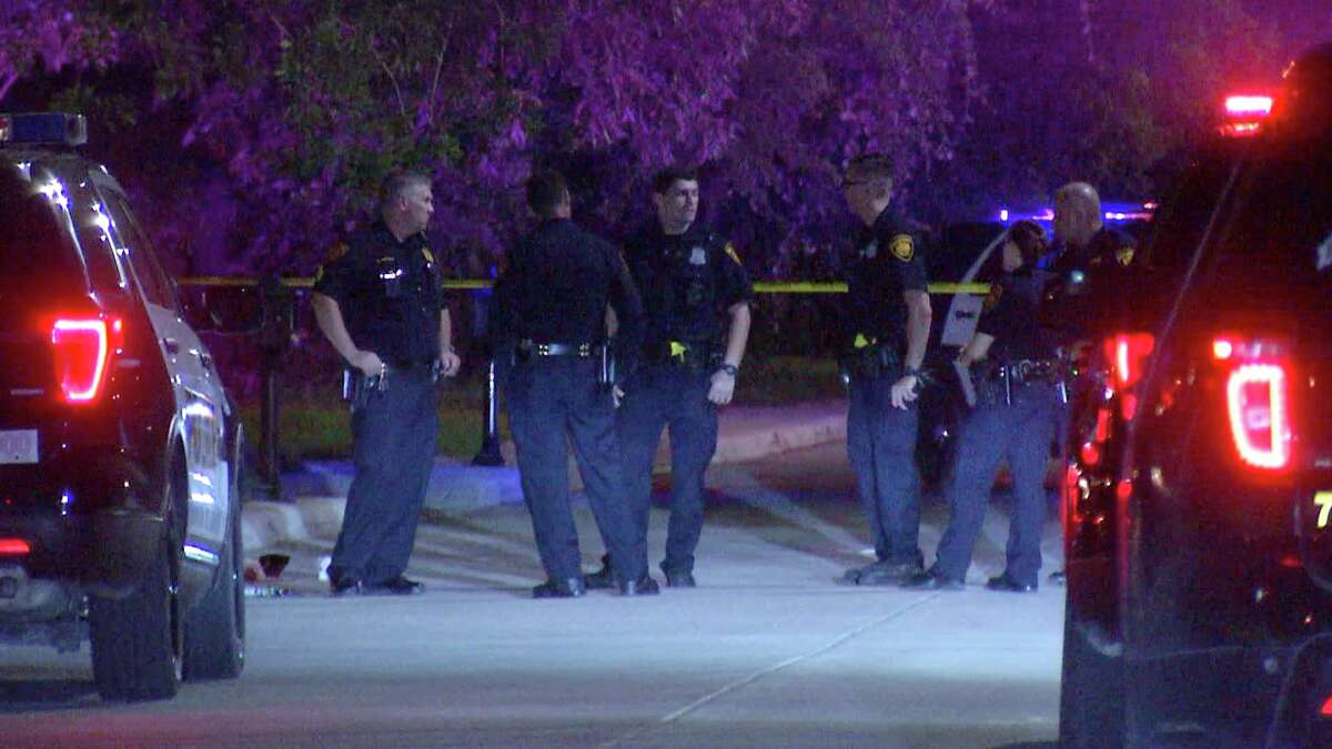 A 38-year-old man was shot multiple times by his 16-year-old son in the 5500 block of Hayden Drive, according to San Antonio police.