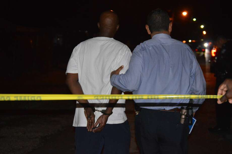 Beaumont police respond to a homicide in the 2400 block of Primrose Street around 10:30 p.m. July 2, 2019. Photos provided by Eric Williams Photo: Provided By Eric Williams