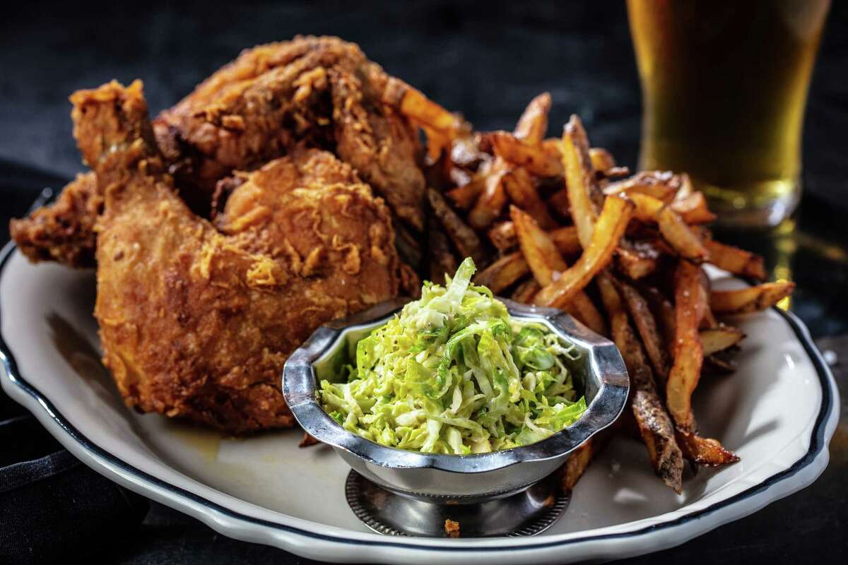 Loch Bar: Get a whole fried chicken and champagne for $115 at Loch Bar on Fourth of July weekend. Dine-in or takeout. 4444 Westheimer, 832-430-6601; lochbar.com/houston/