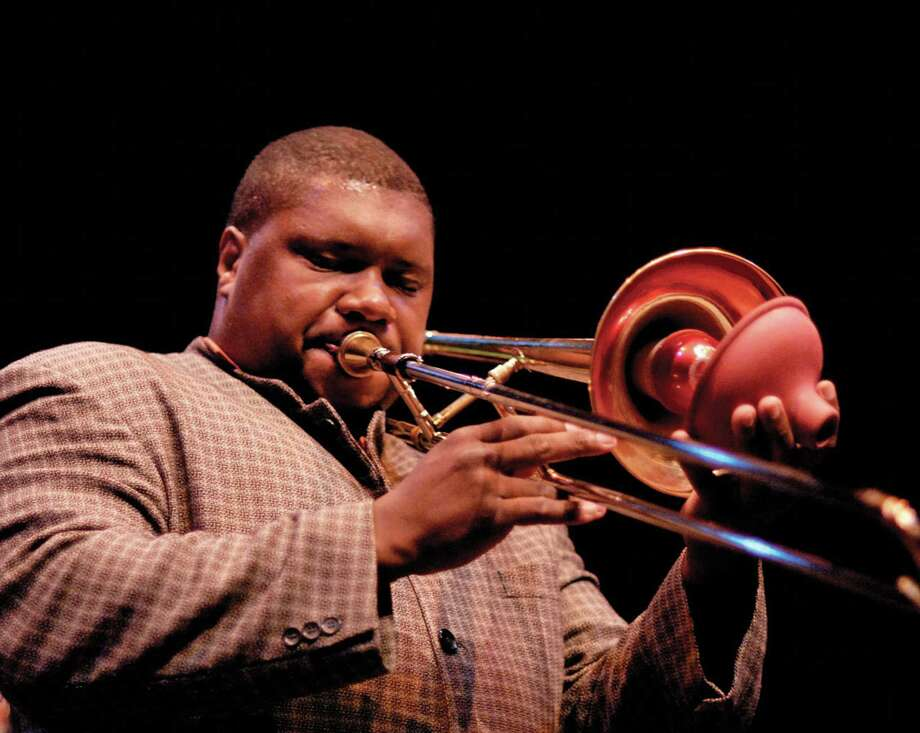 Jazz trombonist Wycliffe Gordon will make a repeat appearance at the Litchfield Jazz Fest. Photo: Litchfield Jazz Fest / Contributed Photo