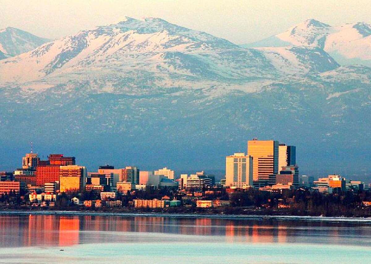 San Antonio pre-tax household income: $50,000  Anchorage, AK comparable income: $69,109 COL difference: 38 percent higher in Anchorage