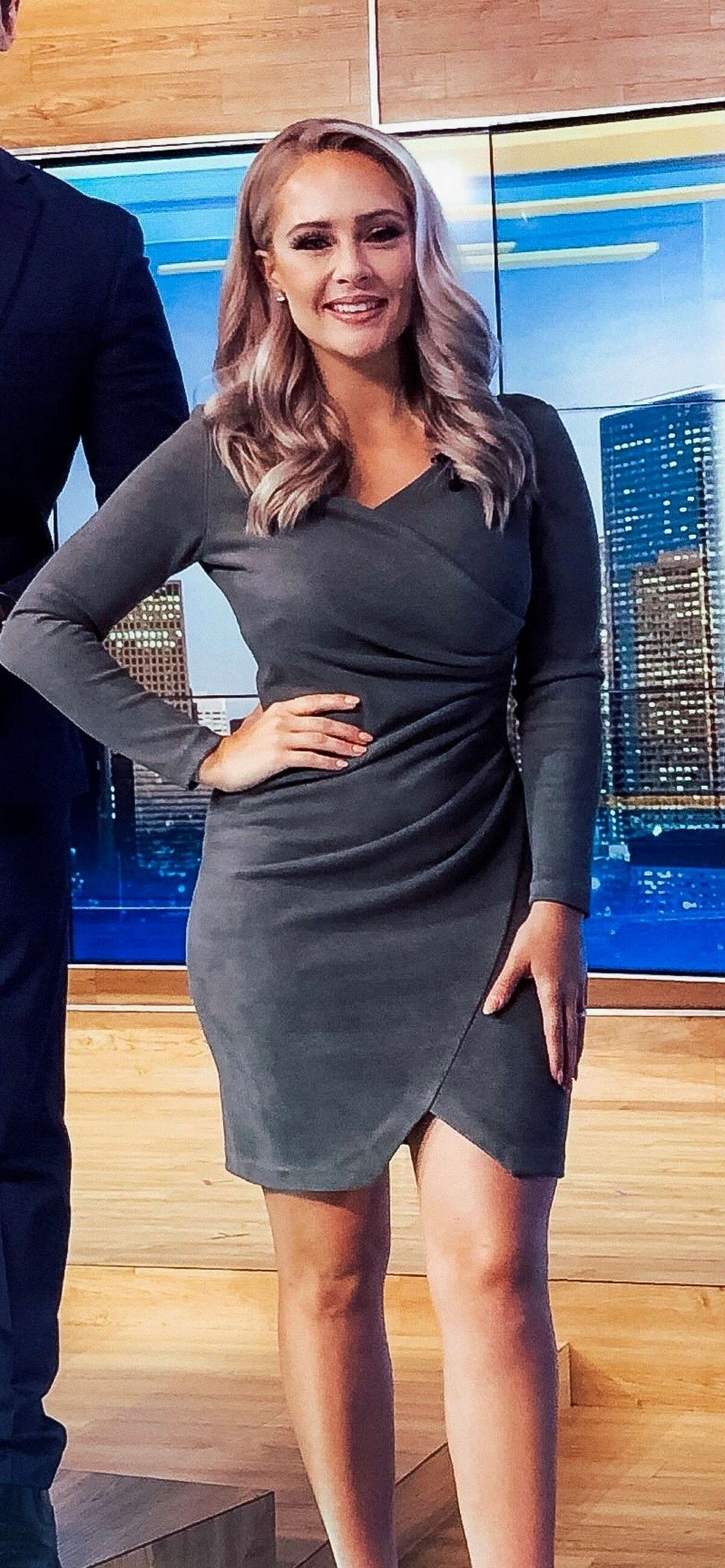 Brheanna BerryReporter, KTRKHow she stays fit/promotes fitness, according to Becic: - She runs with her dogs - She does weight training - She enjoys hiking - She works out at the gym daily - She does HIIT (high-intensity interval training) workouts