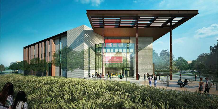 An artist's rendering shows what a new instructional site in Katy will look like. Starting this fall, both the University of Houston-Victoria and the University of Houston will offer classes at the site, located near the intersection of Interstate 10 and the Grand Parkway. Photo: University Of Houston-Victoria