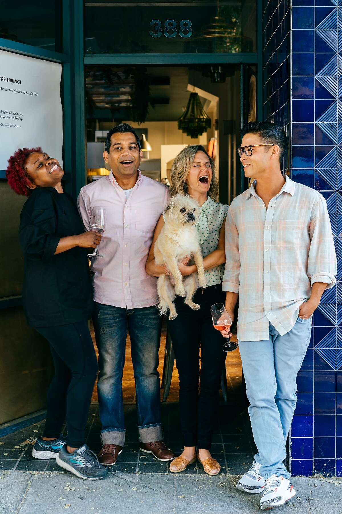 Mama, a new red-sauce restaurant in Oakland from the team behind the Bay Grape wine shop, opens July 8, 2019.