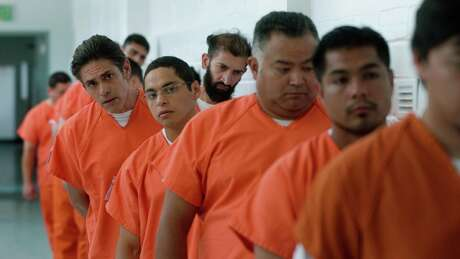 "Still from ""The Infiltrators,"" the opening night film of  CineFest, tells of a group of activist Dreamers who get themselves deliberately arrested so they'll be sent to a detention facility where they teach immigrants about to deported how to gather supporters on the outside to help push for their release."