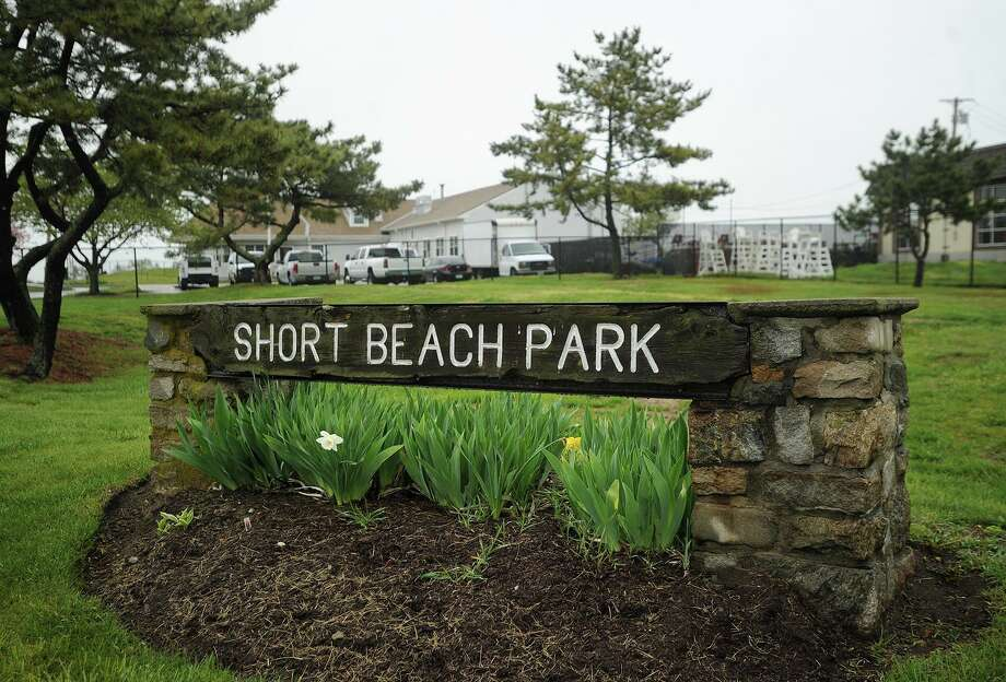The entrance to Short Beach Park in Stratford, Conn. Photo: Brian A. Pounds / Hearst Connecticut Media / Connecticut Post