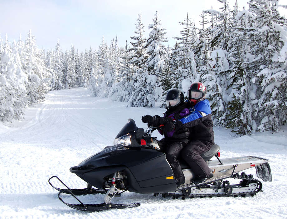An appellate court has ruled against a new Adirondack snowmobile trails due to the level of tree cutting. Photo: File