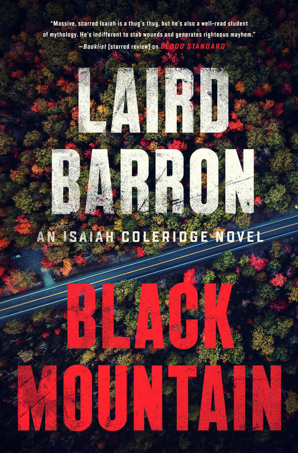 "This book cover image released by Putnam shows ""Black Mountain,"" by Laird Barron. (Putnam via AP) / Putnam"