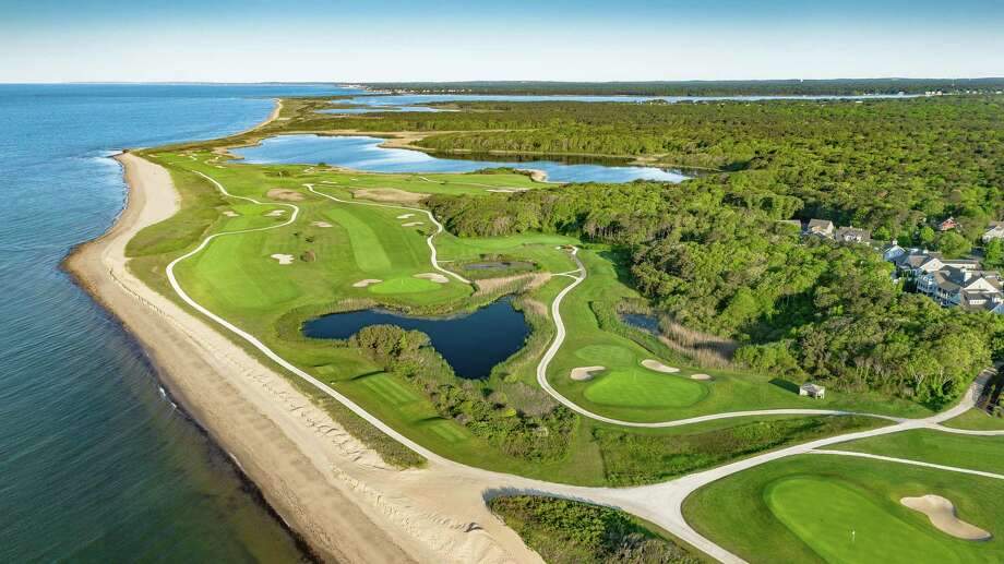 Views of Nantucket Sound and Martha's Vineyard are being enhanced by a multi-year, multi-million restoration of the Club at New Seabury's Ocean and Dunes Courses in Mashpee. The New Seabury housing development was established in 1962. (Kent Earle)