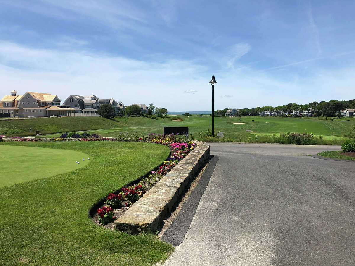 Views of Nantucket Sound and Martha's Vineyard are being enhanced by a multi-year, multi-million restoration of the Club at New Seabury's Ocean and Dunes Courses. The New Seabury housing development was established in 1962. (Joyce Bassett / Times Union)