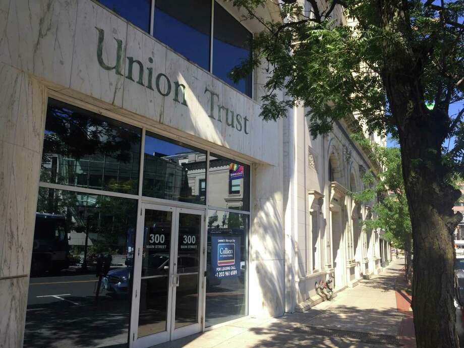 The office building at 300 Main St., in downtown Stamford, has sold for $8.3 million. Photo: Paul Schott