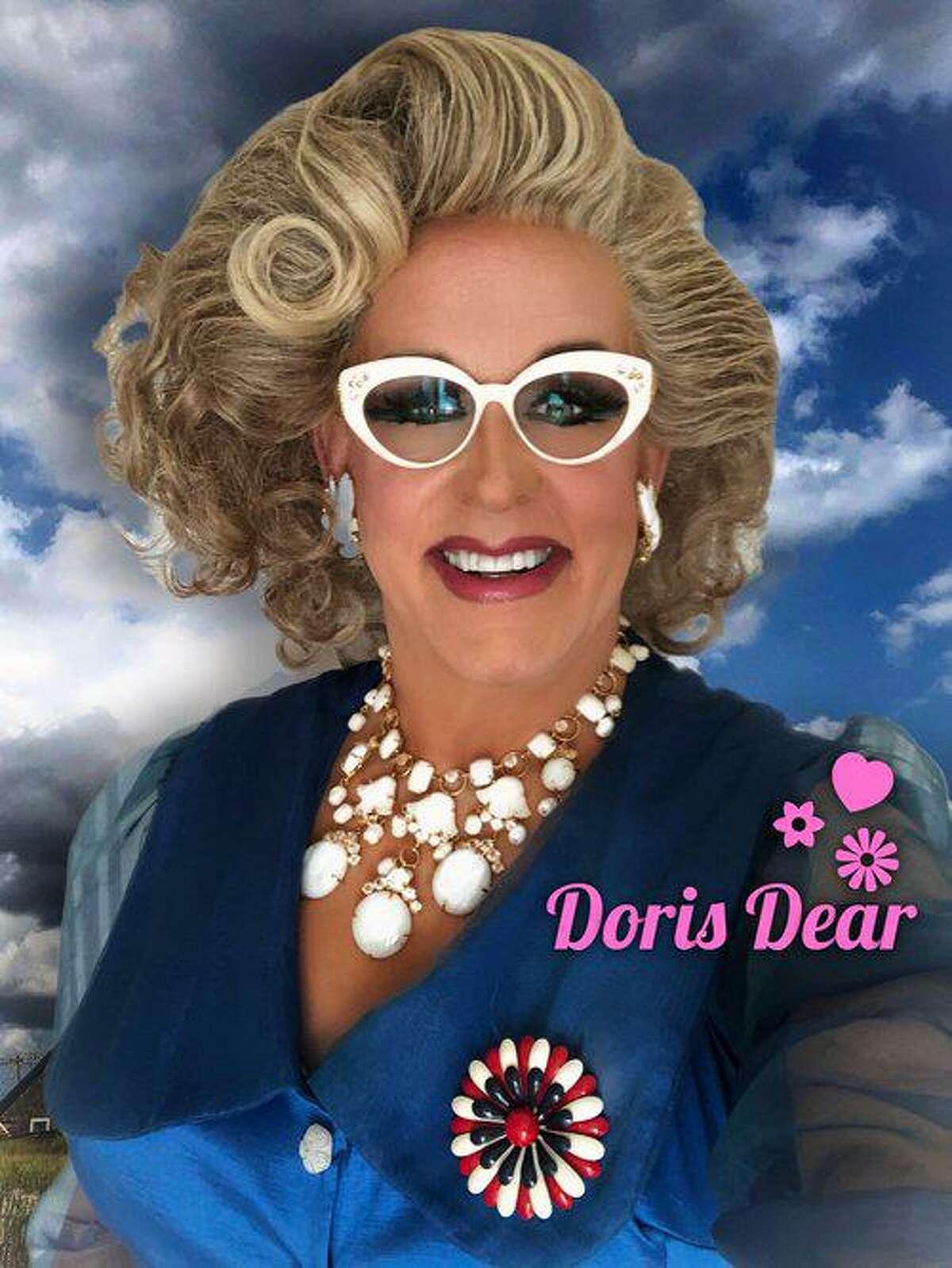 Doris Dear is presenting
