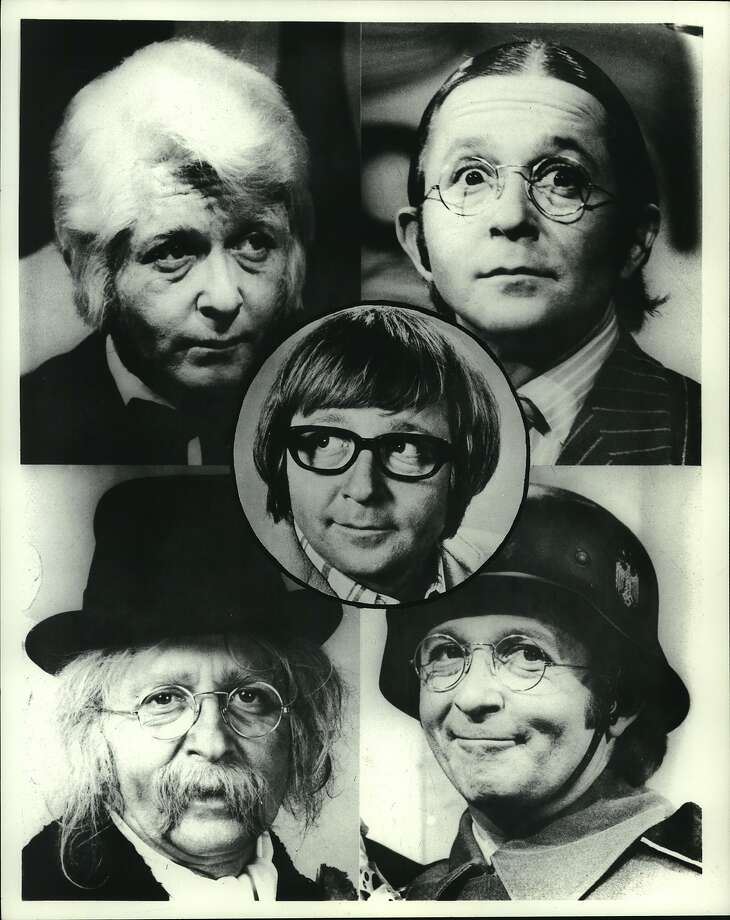 "While appearing on ""Laugh-In"" from 1967-71, Arte Johnson made his mark with his characters. Photo: Chronicle File Photo"