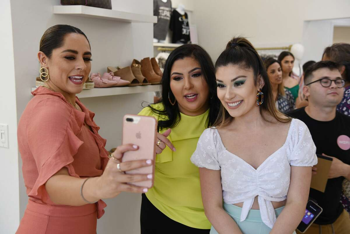 Bloggers and influencers come together and enjoy the company, shop and use their social media prowess throughout the event at Le Boutique Shop, Saturday, June 29, 2019.