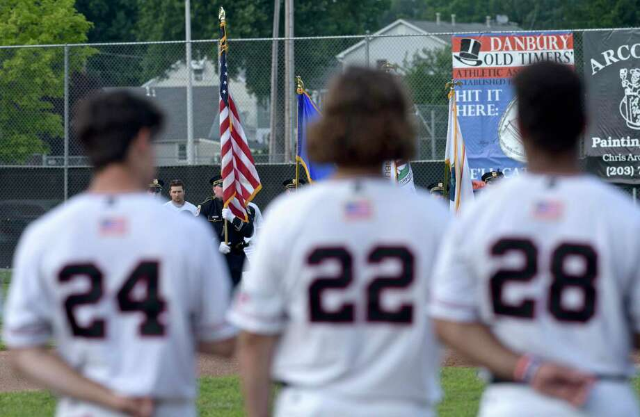 The Danbury Westerners, of the New England Collegiate Baseball League (NECBL), collegiate summer baseball league, play the Mystic Schooners, Tuesday night. July 2, 2019, in Danbury, Conn. Photo: H John Voorhees III / Hearst Connecticut Media / The News-Times