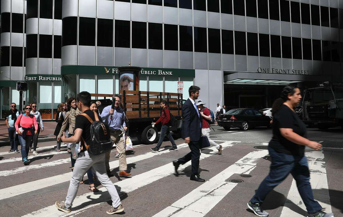 One Front Street is where First Republic Bank signed the quarter's biggest lease and is seen on Wednesday, July 3, 2019, in San Francisco, Calif.
