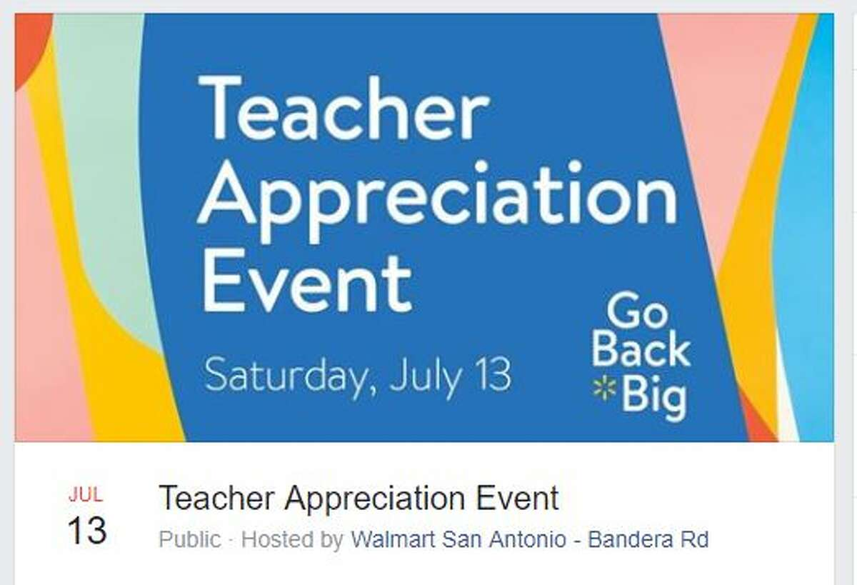 Educators have the opportunity to partake in some summertime fun at two free teacher-only events coming up this month in San Antonio.