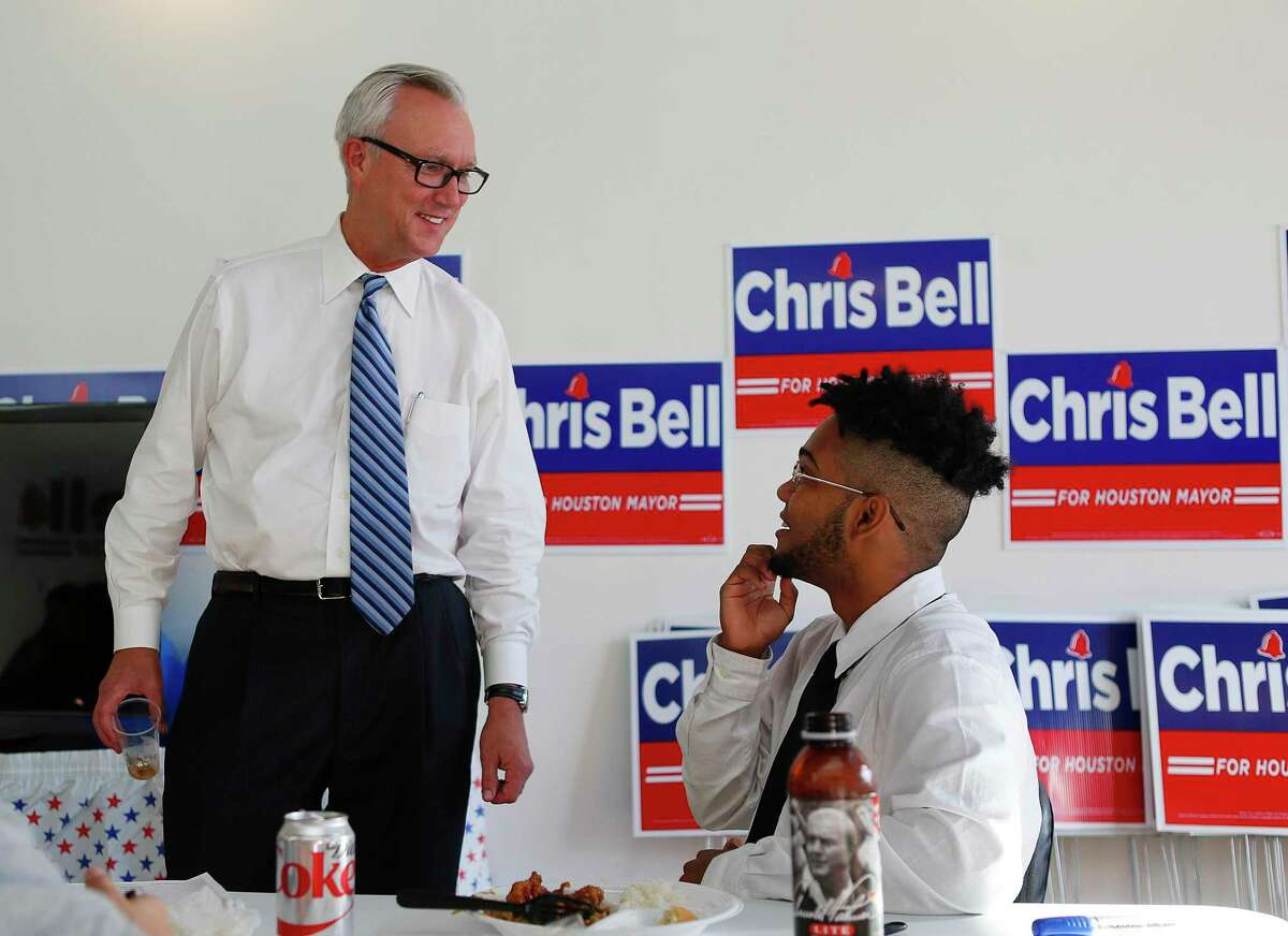 2015 file photo from Chris Bell's mayoral run. Bell told the Houston Chronicle on Wednesday that he plans to run against Sen. John Cornyn. ( Mark Mulligan / Houston Chronicle )