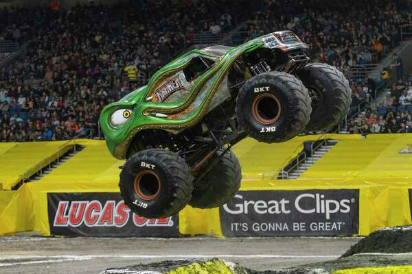 Monster Jam S First San Antonio Summer Show Features