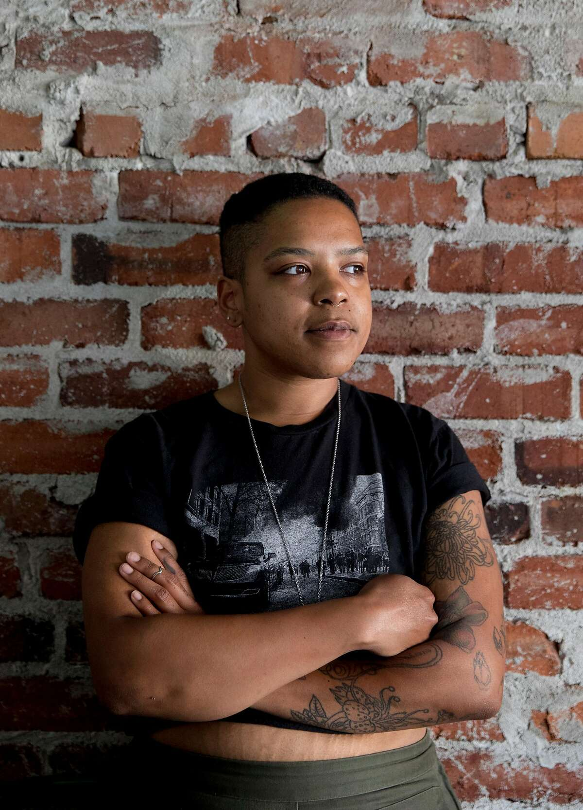 Head Chef Jesa Brooks poses for a portrait at Tamarack in Oakland, Calif. Saturday, June 8, 2019.