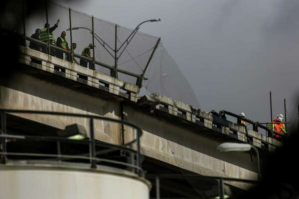 Deadly Loop 610 truck crash draws focus to safety of bridge