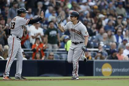 Giants power their way to fourth straight win, first three-game sweep of 2019