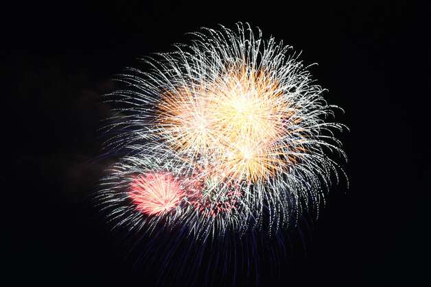Madison Town fireworks will be held at the waterfront area of West Wharf Beach on July 2 at 9:30 p.m. (rain date will be July 5). Photo: Vic Eng / Hearst Connecticut Media Group