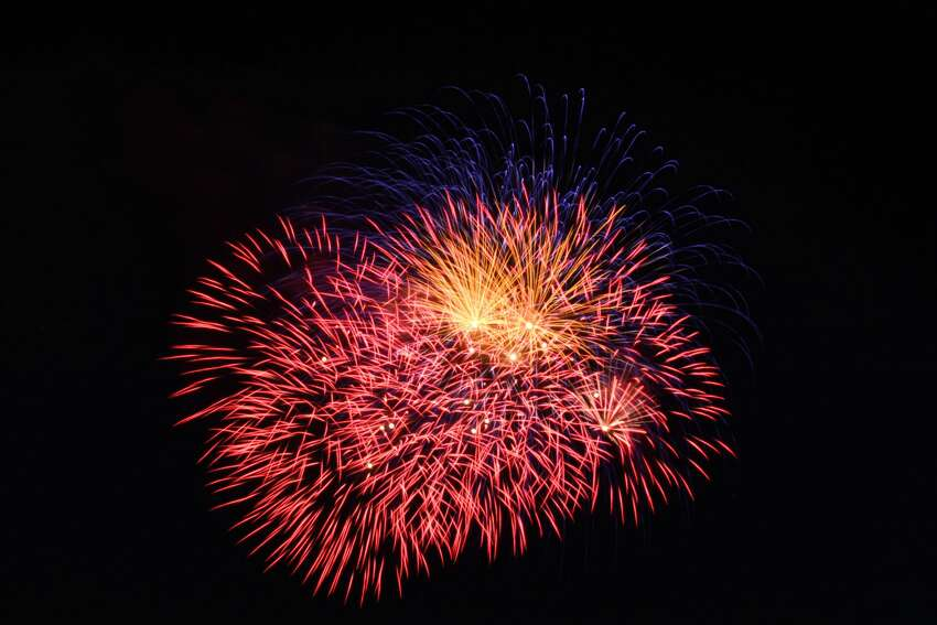 Branford Town fireworks cancelled.