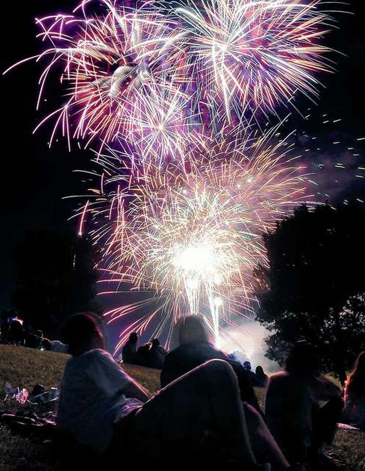 Fireworks long have been a staple of Fourth of July celebrations. Photo: Dispatch-Argus File Photo