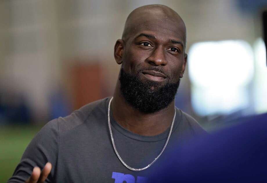 PHOTOS: Houston Texans 2019 schedule New York Giants defensive back Michael Thomas reacts during an interview at NFL football mini camp at the team's training facility Tuesday, June 4, 2019, in East Rutherford, N.J. (AP Photo/Frank Franklin II) >>>Glance at the Texans' schedule this season ... Photo: Frank Franklin II, Associated Press / Copyright 2019 The Associated Press. All rights reserved.