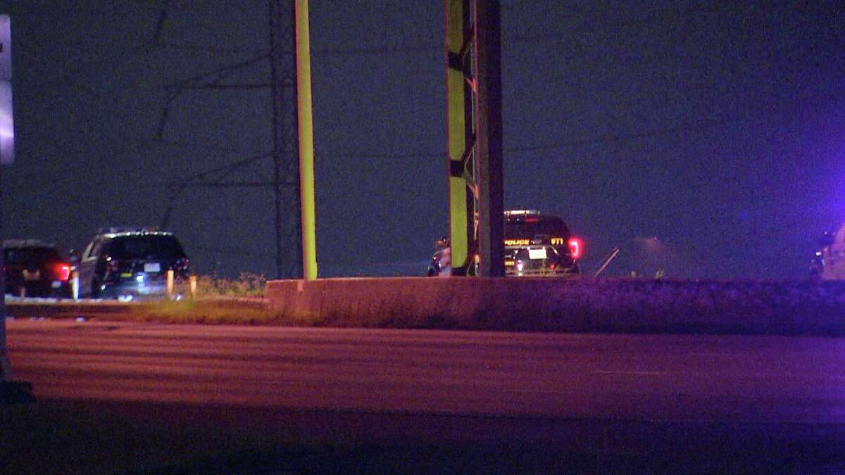 A man was killed after being struck by multiple vehicles while walking along I-37, according to the San Antonio Police Department.