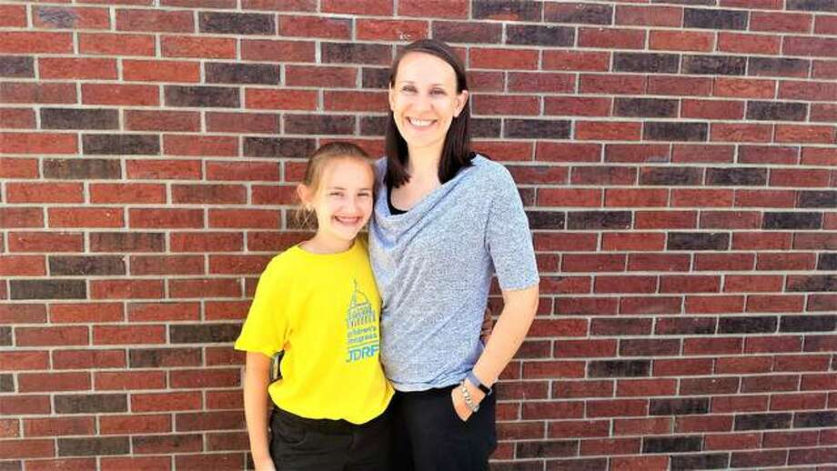 Morgan Steckel and her mother, Beth, will travel to Washington D.C. next week to join 160 other kids to talk with people about juvenile diabetes.