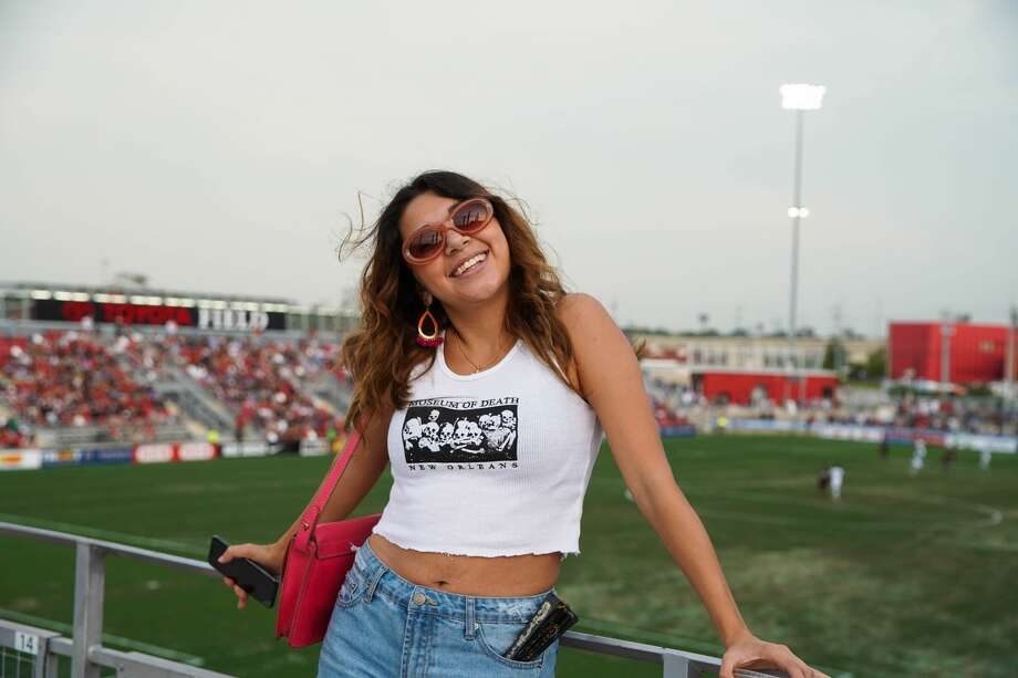 Fans stayed for fireworks at Toyota Field Wednesday, July 3, 2019, after watching San Antonio FC beat Austin Bold FC 3-0. Photo: Stacey Lovett For MySA