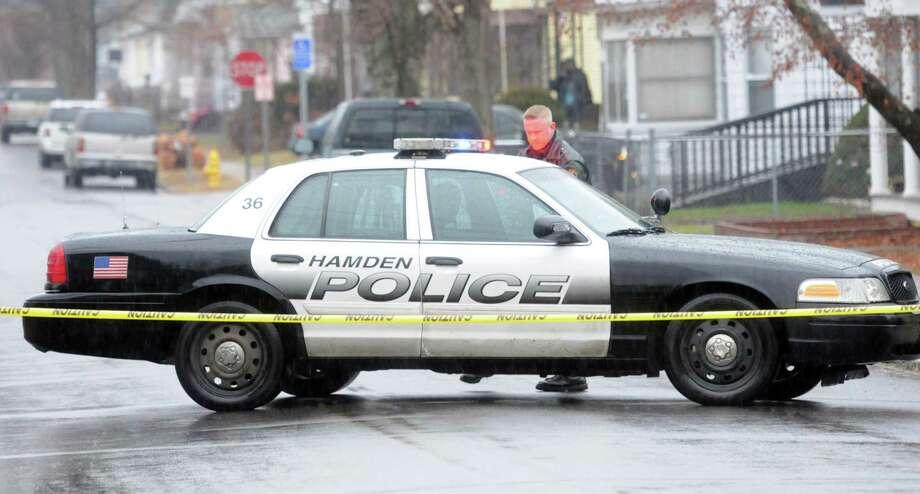 A Hamden police car. Photo: File Photo / Mara Lavitt