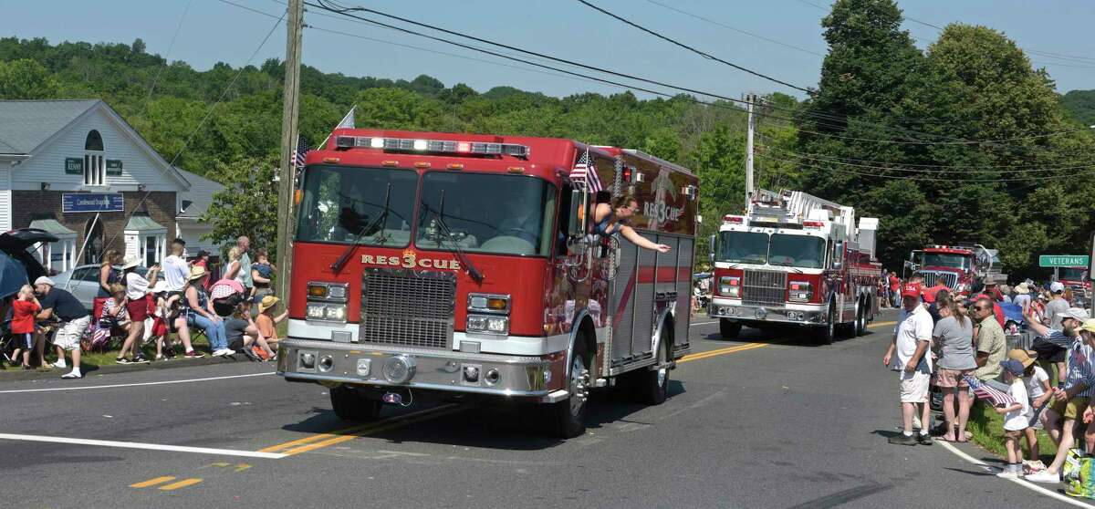 The New Fairfield Lions Club annual Independence Day parade. Thursday, July 4, 2019, in New Fairfield, Conn.
