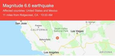 Magnitude 6 4 earthquake rocks Southern California on the