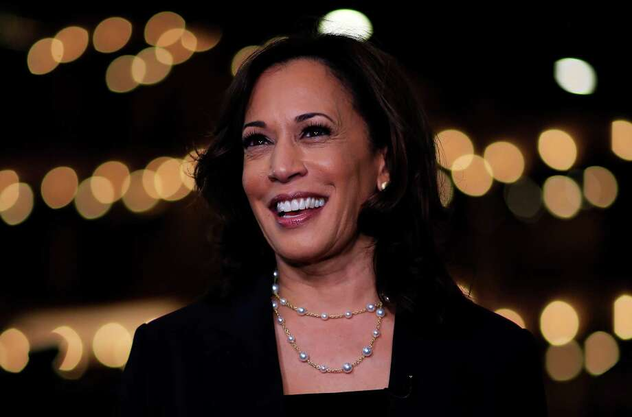 Democratic presidential candidate Sen. Kamala Harris stand on private health insurance? Is she for preserving it or Medicare for all? We still don't know. Photo: Cliff Hawkins /Getty Images / ONLINE_YES