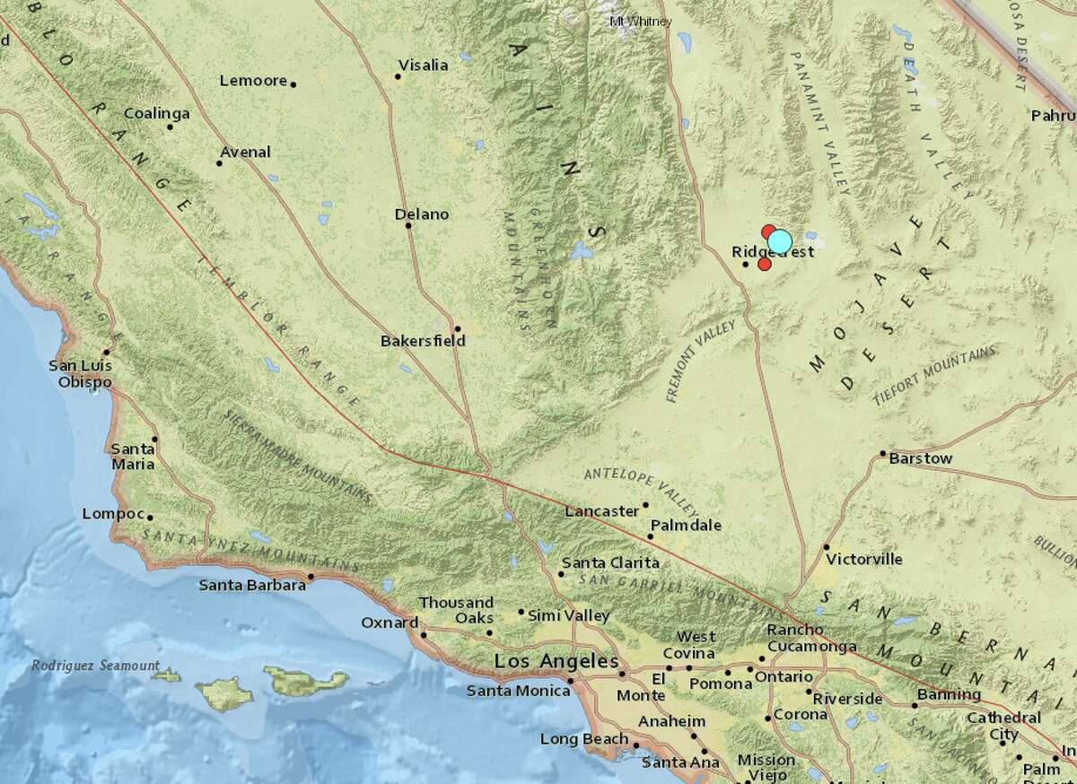 A strong earthquake shook the Los Angeles area on the morning of July 4, 2019.