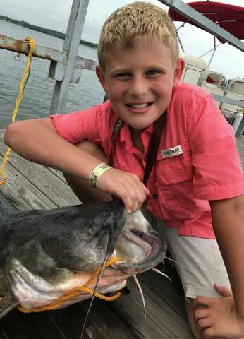 Local Lures Large Catfish On Lake Conroe The Courier