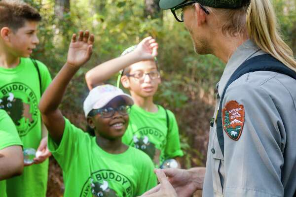 Children ages 8 to 12 can learn about wildlife and wilderness survival in the Big Thicket National Preserve in Kountze when they take part in Junior Ranger Days from 9 a.m.-noon every Wednesday in July.