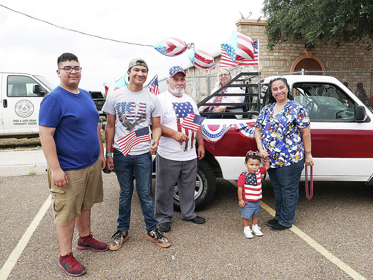 Laredoans take in Fourth of July celebrations at the Bruni Community Center.