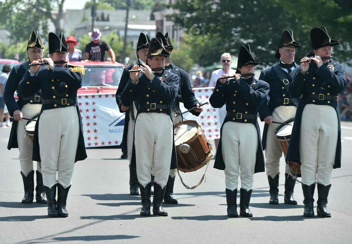 Madison, Connecticut - Thursday, July 04, 2019: The Madison July 4th Independence Day Parade Thursday celebrating the 100th Anniversary of the American Legion.