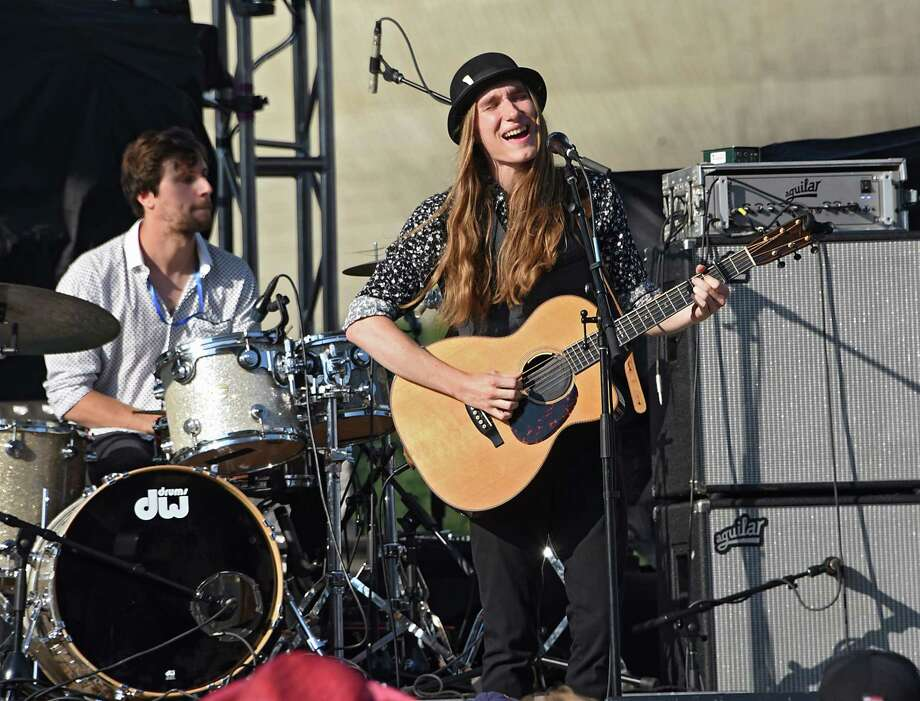 Over the years, those performers included Sean Rowe, Sawyer Fredericks, above, the Arkells and – in the festival's inaugural year -- the Wombats. In April 2018, the slate featured Girl Blue, the Ryan Leddick Trio and C.K. and the Rising Tide. Photo: Lori Van Buren, Albany Times Union / 20047305A